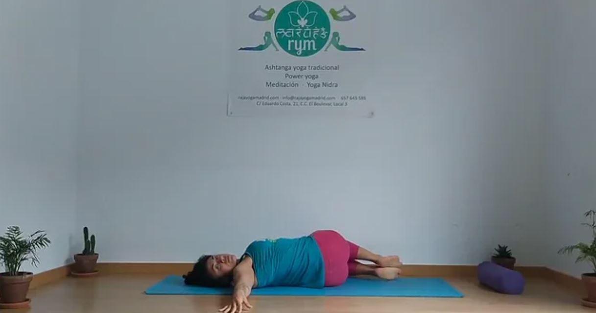 Yoga tradicional 2º Serie Pawanmuktasana
