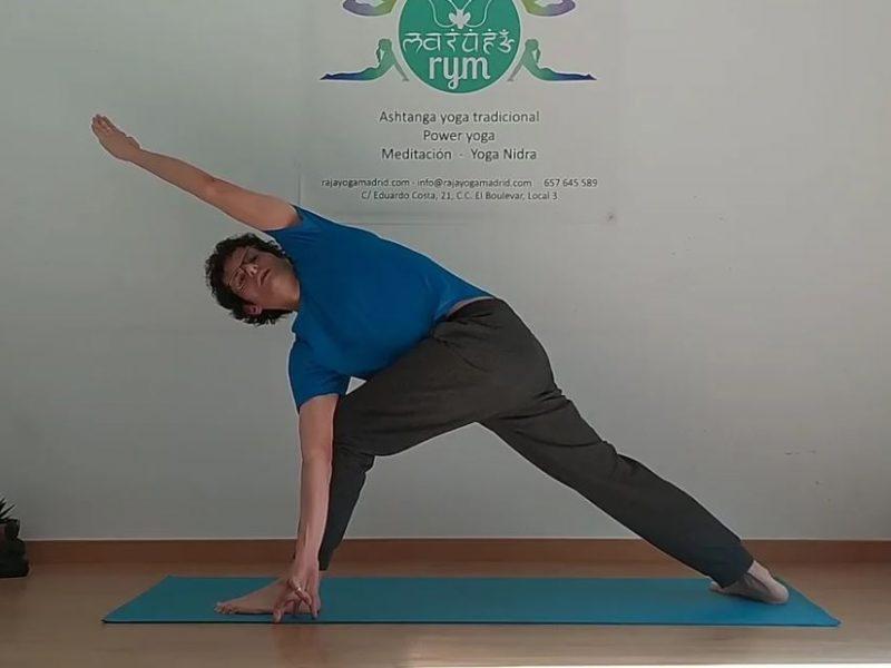 Yoga tradicional Cuadriceps y gemelos