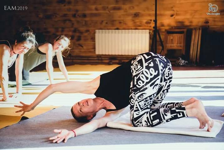 Taller yin yoga Susann Mayer